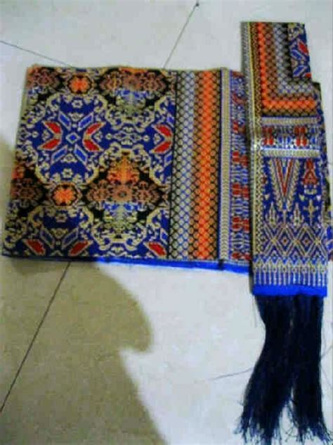 Kain Jumputan Palembang Viskos B raja murah songket sale kain suji palembang