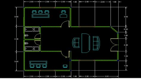 tutorial menggambar rumah dengan autocad cara menggambar desain rumah dengan autocad tutorial