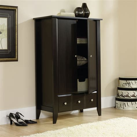 sauder clothing armoire wardrobe closet wardrobe closet computer armoire walmart