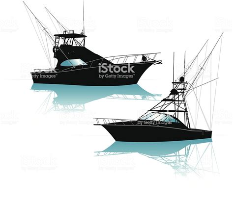 fishing boat vector fishing boat stock vector art more images of animal
