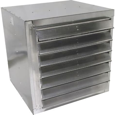 belt drive wall exhaust fan canarm belt drive wall exhaust fan with cabinet 30in 1