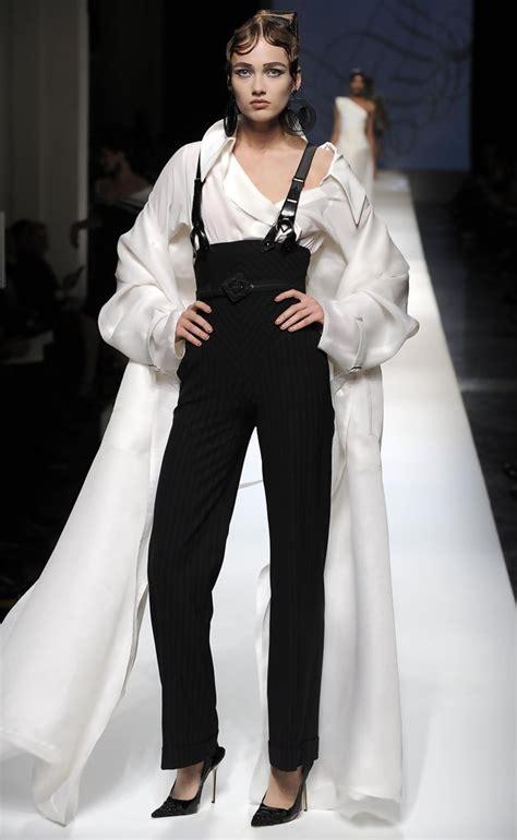 5 At Jean Paul Gaultier Fashion Show karmen pedaru in 2009 fashion week jean paul