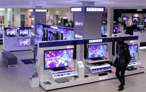samsung electronics visual display  store display graphis