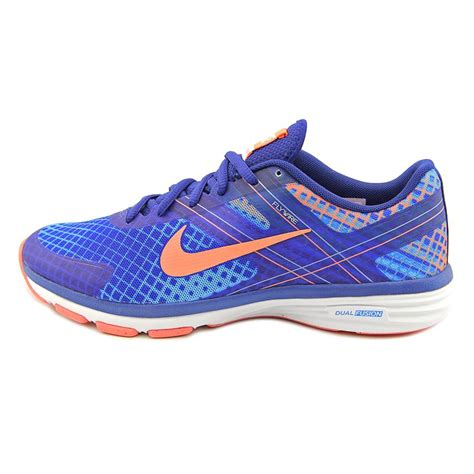 nike flywire womens size 8 blue mesh running shoes ebay