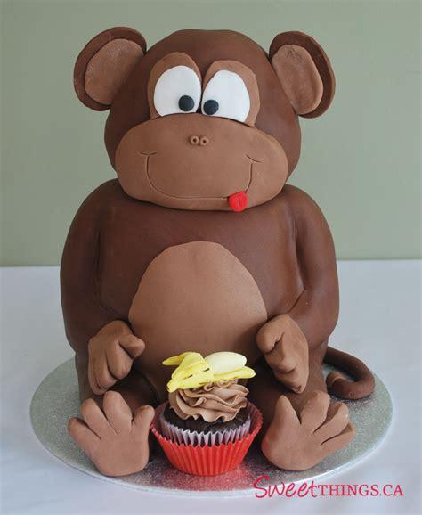 monkey cake sweetthings 1st birthday cake sweet monkey cake