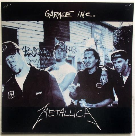 Garage Inc Metallica Garage Inc Thingery Previews Postviews