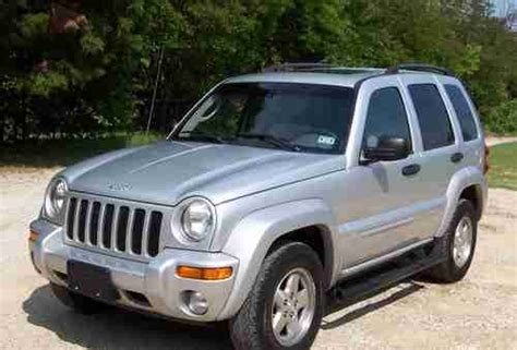 jeep liberty silver inside buy used 2004 jeep liberty limited like inside and out