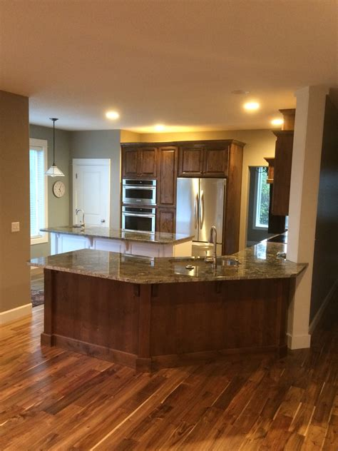 kitchen island wall livingston mt kitchen remodel indy construction llc