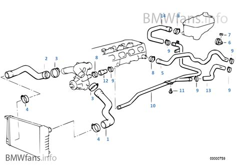 2004 bmw 325i radiator diagram bmw 318i e46 cooling system