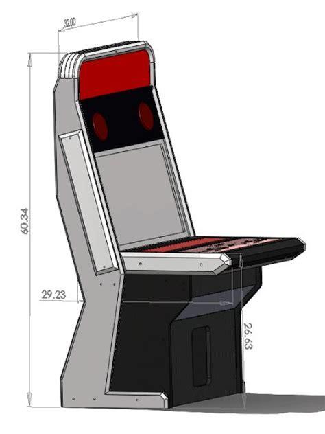 sit down arcade cabinet dimensions best 112 arcade machines images on geek