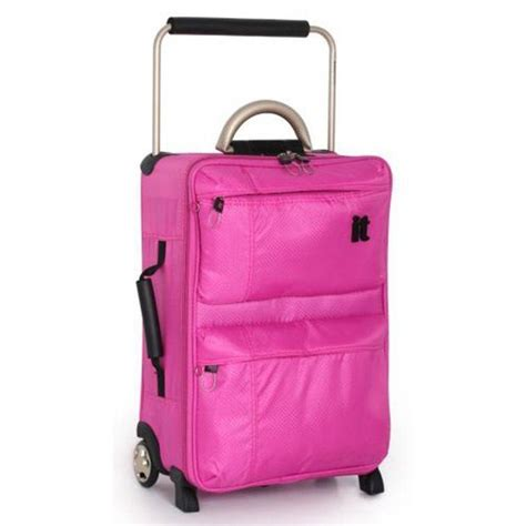Argos Cabin Baggage by Buy It World S Lightest 2 Wheel Suitcase Pink At Argos