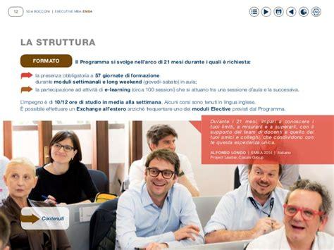 Bocconi Mba Italiani Estero by Emba Executive Mba Sdabocconi 2016 2017 B