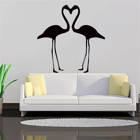home decor decals flamingo wall decal vinyl sticker home decor interior