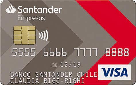 tarjeta de credito banco santander tarjeta de cr 233 dito santander empresas santander advance