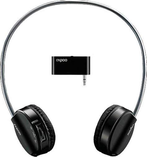 Headset Bluetooth Rapoo rapoo wireless stereo headset h3070 bluetooth headset with mic price in india buy rapoo