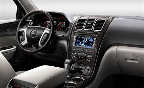 Gmc Acadia Denali Interior by Car And Driver