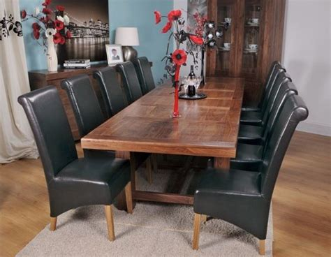 extra large dining table grand marseille walnut large