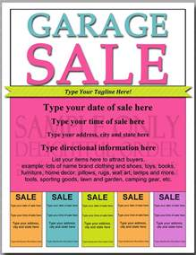 Garage Sale Template by Doc 585757 Yard Sale Flyer Template 14 Best Yard Sale