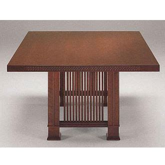 frank lloyd wright table frank lloyd wright husser table