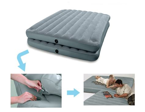 Kasur Air Intex Warna New air mattresses to buy mattresses the coleman 4in1 easystay airbed has the interesting design