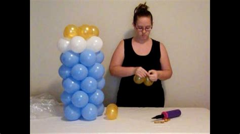 how to make balloon baby bottle youtube