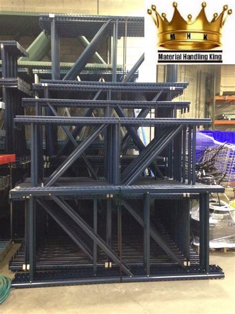 Pallet Rack Uprights by Teardrop Pallet Rack Uprights 96 X 48 Ebay