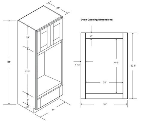 corner oven cabinet dimensions wall oven corner cabinet dimensions