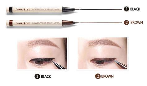 Innisfree Power Proof Brush Liner box korea innisfree powerproof brush liner 0 6g