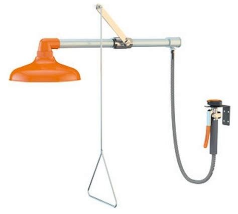 Guardian Safety Shower by Guardian G1641 Horizontally Mounted Emergency Shower