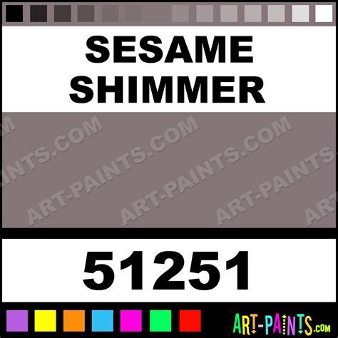 sesame shimmer brushed metallic metal paints and metallic paints 51251 sesame shimmer paint