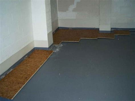 basement tips for installing subfloor for basement