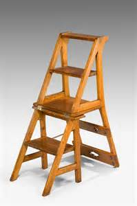 Settees Uk Oak Metamorphic Library Step Chair Summers Davis