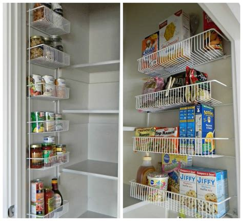 Chrome Pantry Shelves by Wall Mounted Pantry Shelving