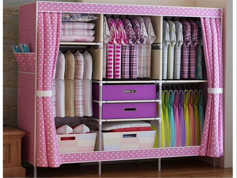 Furniture Clothes Closet Portable Clothes Closets Portable Wooden Closet Portable