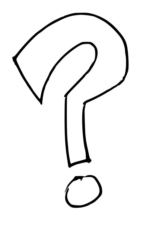 large printable question mark question mark clip art black and white png clipart panda