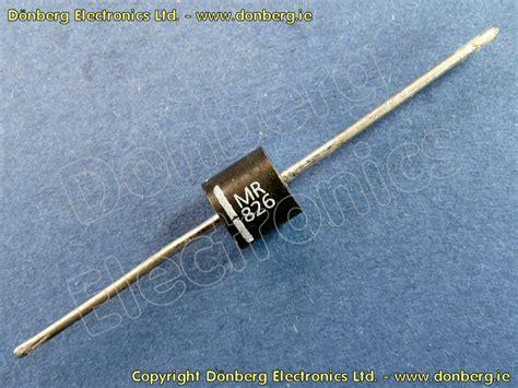 silicon diode value semiconductor mr826 mr 826 silicon diode 600v 5a 300ap 300ns