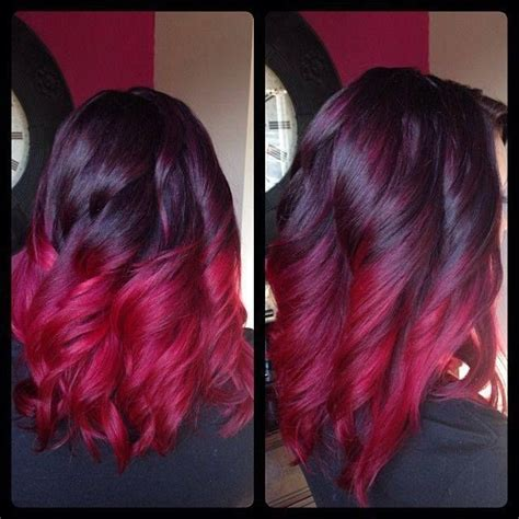 pink highlight on the end tween 1000 images about hair color on pinterest bobs deep