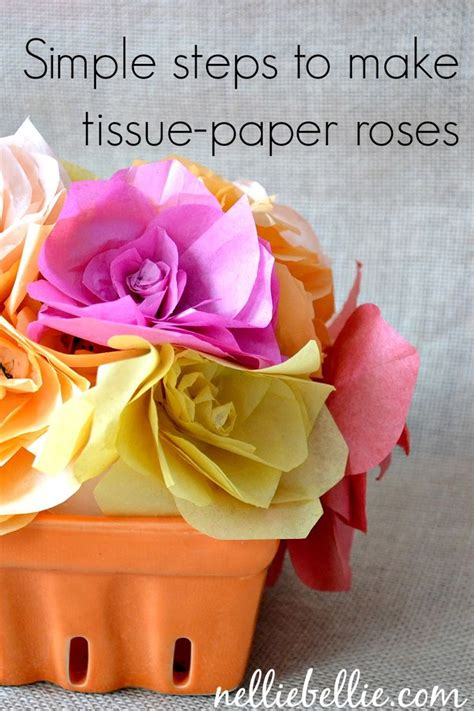 How To Make Tissue Paper Puffs - 129 best images about diy flowers tissue puffs and poms