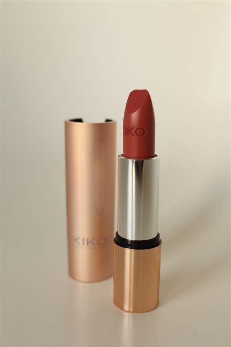 Lipstik Kiko kiko makeup haul product review and swatches made