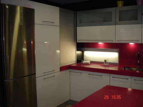 encimera roja cocina mdf encimera roja cocinas galos
