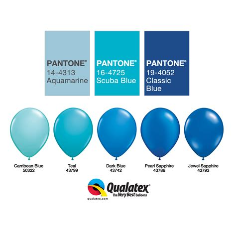 best shade of blue the very best balloon blog part 2 working with colour