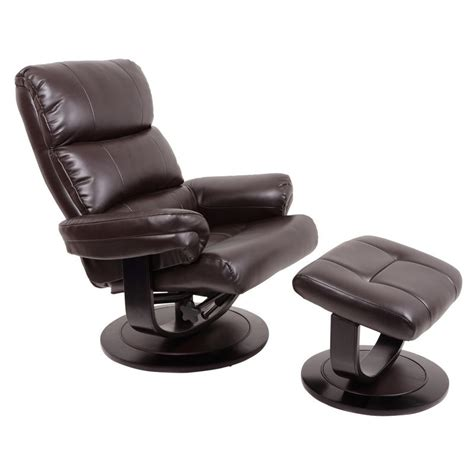 Luxury Leather Recliner Chairs by Luxury Faux Leather Relaxer Chair Recliner With Foot Stool