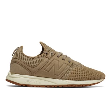 nb sport shoes new balance 247 nb grey s sport style shoes beige