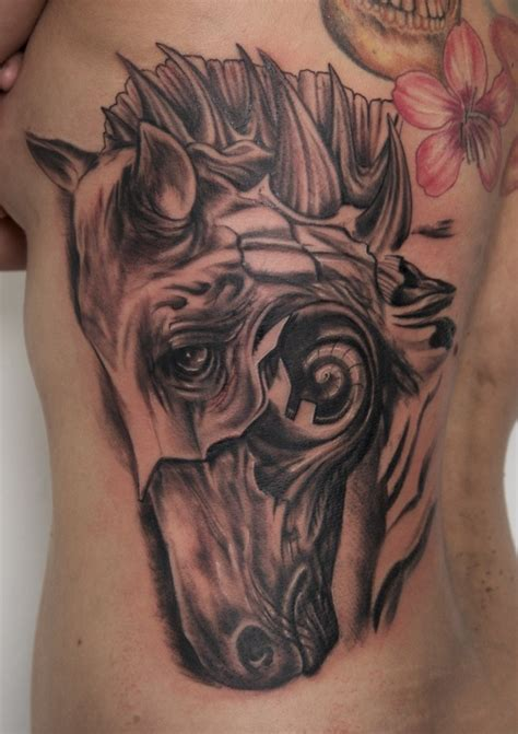 dark horse tattoo awesome surreal by graynd