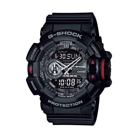 Jam Tangan Pria Wanita Gshock Ga 310 Hitam Biru jual casio g shock ga 400 1bdr jam tangan pria hitam harga kualitas terjamin