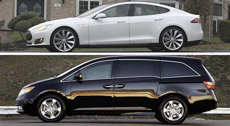 tesla minivan tesla model s is cheaper than a honda odyssey minivan in