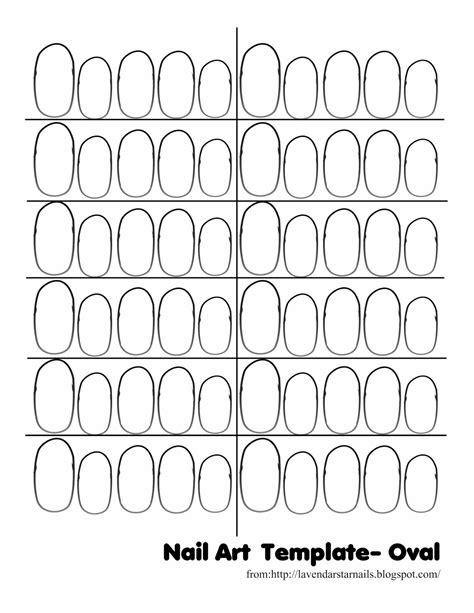 nail templates free sweet minique s clay charms nail thumbnail templates