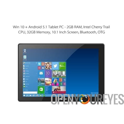 Ram 2gb Android windows 10 android 5 1 tablet pc 2gb ram intel cherry trail cpu 32gb memory 10 1 inch