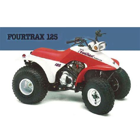 125 honda fourtrax 1987 honda fourtrax 125 trx125 decal set