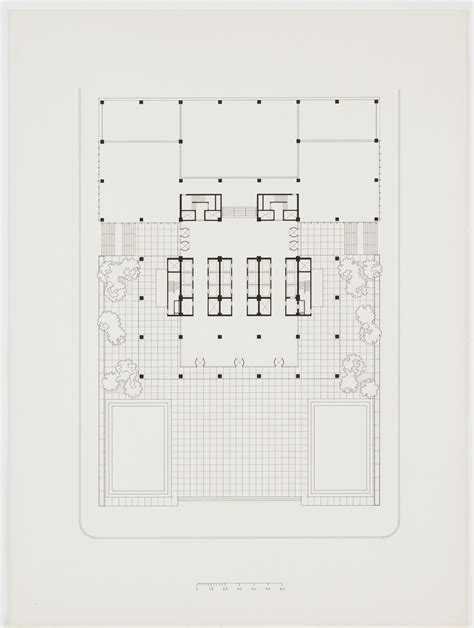 seagram building floor plan ludwig mies van der rohe with philip johnson kahn jacobs